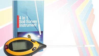 Alat Pengukur Ph Tanah 4 in Soil PH Meter AMT-300 Digital