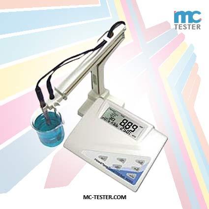 Alat Pengukur Keasaman pH/mV, Konduktivitas, TDS Meter, Garam/ Keasinan, Suhu seri 86505 Multifungsi untuk Laboratorium