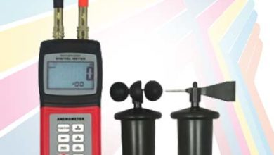Photo of Alat Pengukur Kecepatan Angin dan Arah Angin Anemometer AM-4836C USB