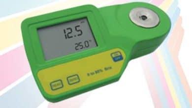 Alat Pengukur Kadar Garam Natrium Klorida Refraktometer AMR-101