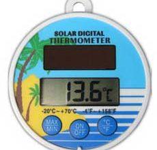 Photo of Alat Pengukur Suhu Air Kolam Renang Dll Thermometer AMT-117 ( Mengapung & Tenaga Surya )