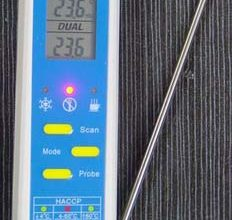 Photo of Alat Pengukur Kesehatan Makanan 2 IN 1 Thermometer AMT206
