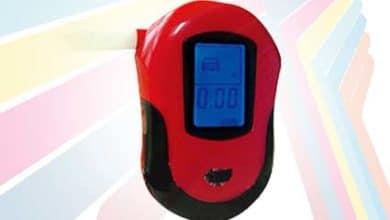 Alat Pengukur Kadar Alkohol pada Tubuh AMT6100 Digital
