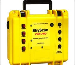 Photo of Alat Pendeteksi Petir SkyScan EWS-PRO Alarm sampai jarak 60 KM