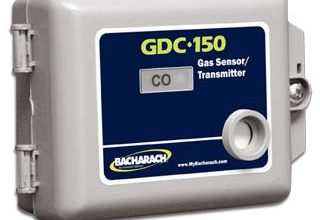 Photo of Alat Pemantau Udara / Gas Sensor Transmitter Bacharach seri GDC-150