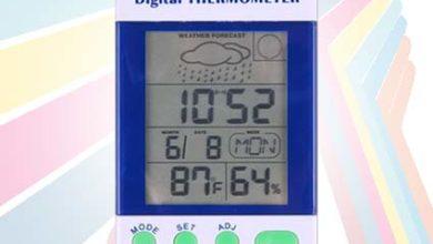 Photo of Alat Pengukur Suhu Udara, Kelembaban, dan Cuaca seri AMT-110