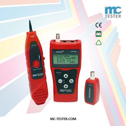 Alat Pengecek/ Pengetest/ Pendeteksi Aliran dan Jaringan Kabel Cable Tester seri NF308