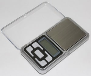 Timbangan Digital Emas, Lab Digital Pocket Scale 500g x 0.1 PST02