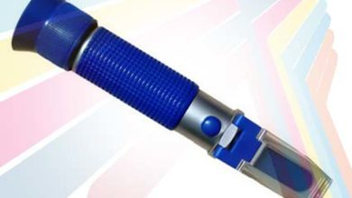 Alat pengukur Kadar Air Madu Honey Refractometer RHH 13-25