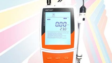 Alat Ukur pH Meter Air Multifungsi 10 in 1 seri EC910