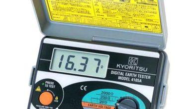 Pengukur Ketahanan Tanah Kyoritsu-Earth-Tester-4105A