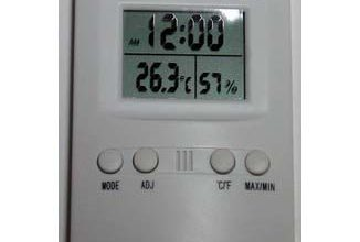 Photo of Thermohygrometer Digital KK-202
