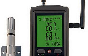 Photo of Thermometer Suhu & Humidity Data Logger WIFI R90W