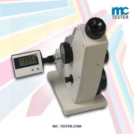 Alat Ukur Indeks Bias - Abbe Refractometer WYA